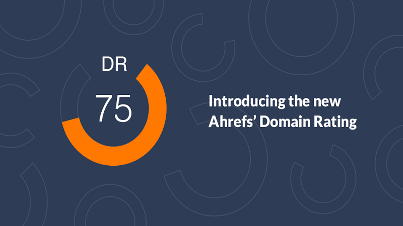 How To Use Ahrefs Domain Rating
